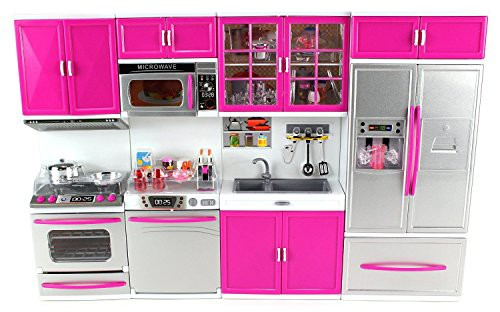 バービーサイズDoll Playsets My Modern Kitchen ...