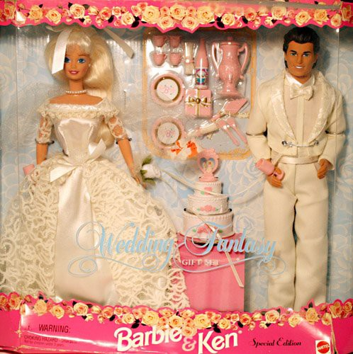 バービーBarbie and Ken Wedding Fantasy Gift Se...