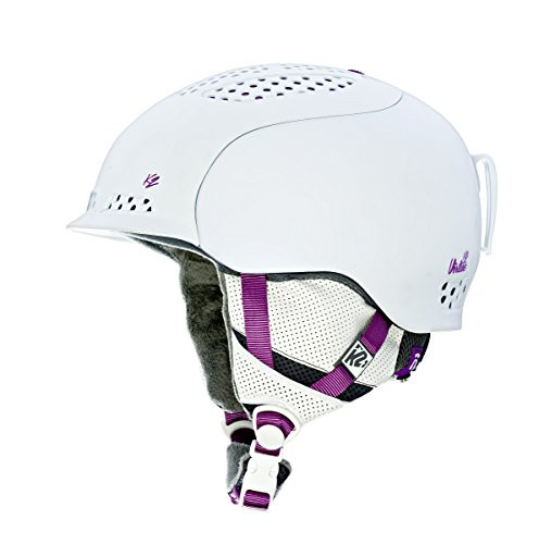 スノーボードK2 Virtue Ski Helmet, White, Small...