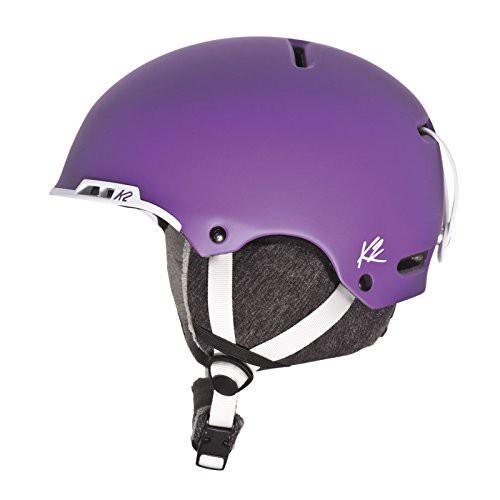 スノーボードK2 Meridian Ski Helmet, Purple, Me...