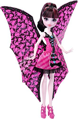 モンスターハイMonster High Ghoul-to-Bat Transf...