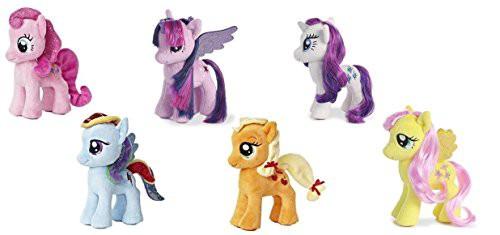 """マイリトルポニーMy Little Pony 6"""" Plush Set (6..."""