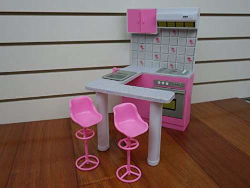 バービーGloria Kitchen Play Set by Wong on