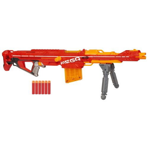 ナーフNerf Centurion Mega Toy Blaster with Fol...