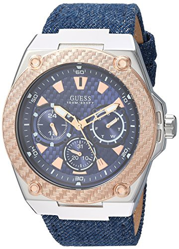 【当店1年保証】ゲスGUESS Men's Quartz Stainle...