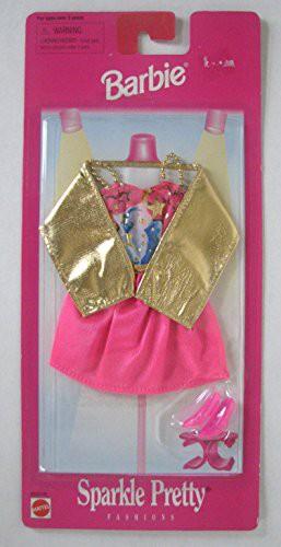 バービーBarbie Sparkle Pretty Fashions - Pink ...
