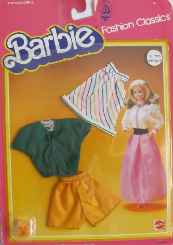 バービーBARBIE FASHION CLASSICS Fashions w SKI...