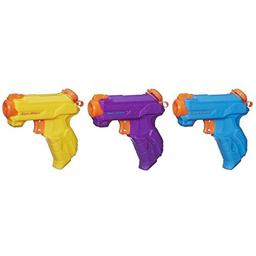 ナーフNerf Super Soaker Zipfire 3-Pack(Discont...