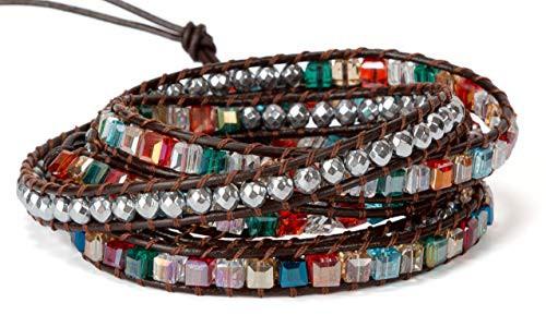 SPUNKYsoulSPUNKYsoul 5 Wrap Bracelet in Colorf...