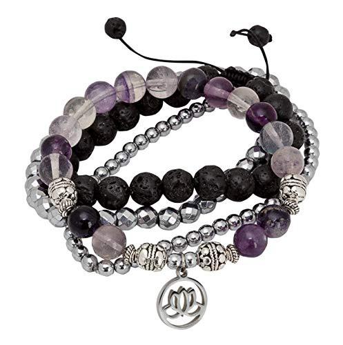 SPUNKYsoulSPUNKYsoul Purple Fluorite Lotus New...