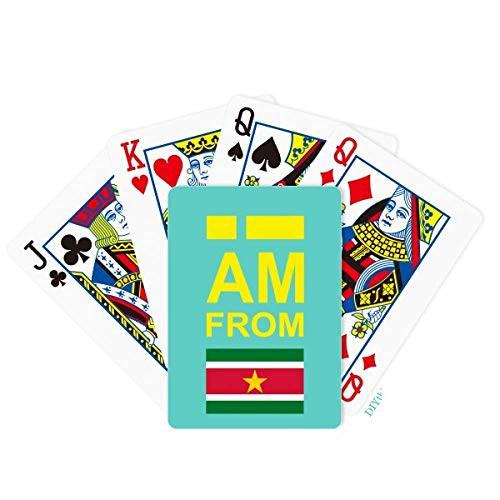海外カードゲームDIYthinker I Am from Suriname ...