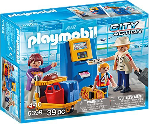 プレイモービルPLAYMOBIL Family at Check-in Bui...