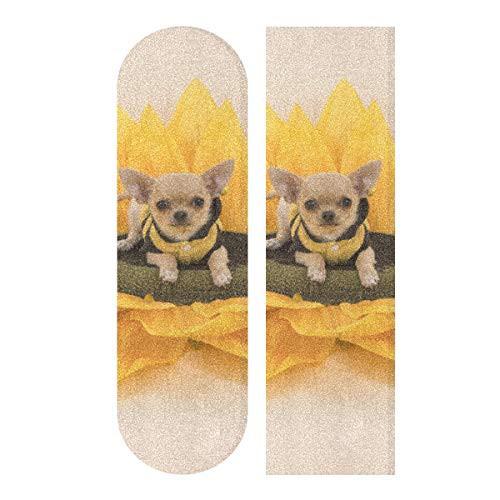 デッキテープWJWEG Longboard Griptape Chihuahua...