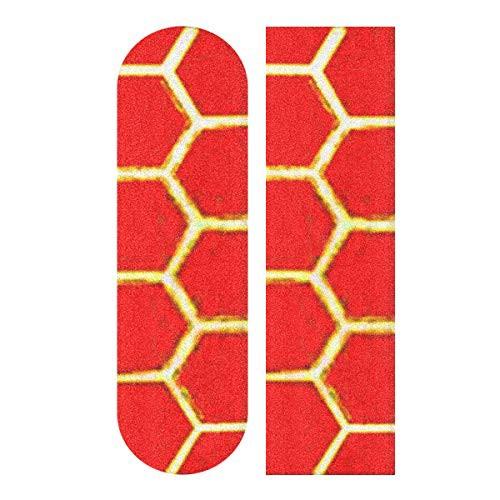 デッキテープWJWEG Longboard Griptape Honeycomb...