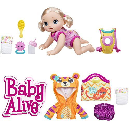 ベビーアライブBaby Alive Baby Go Bye Bye Blond...