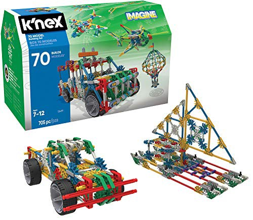 ケネックスK'NEX 70 Model Building Set - 705 Pi...