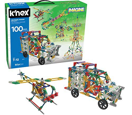 ケネックスK'NEX 100 Model Imagine Building Set...