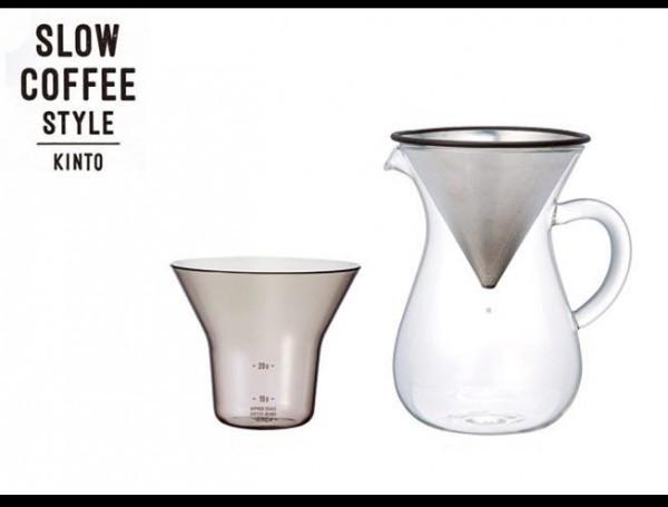 KINTOキントー コーヒーカラフェセット 300ml ス...