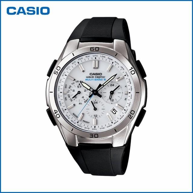 カシオ クロノグラフ 腕時計 メンズ 電波ソーラ...