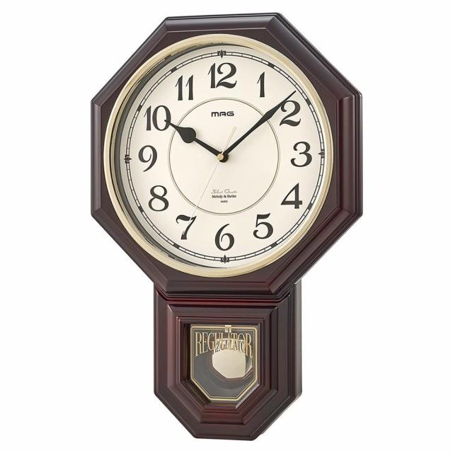 壁掛け時計 アンティーク 振り子 振り子時計 レト...