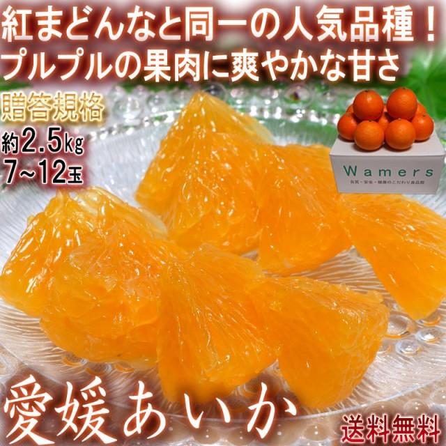 愛媛あいか 約2.5kg 7〜12玉入り 愛媛県産 贈答規...
