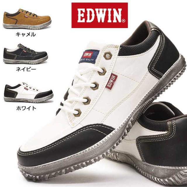 【即納】エドウィン スニーカー メンズ EDM1806 ...