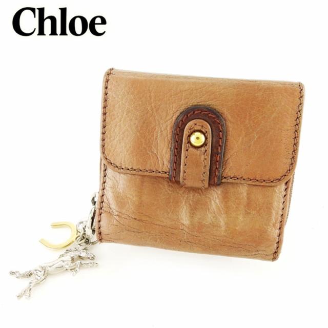 クロエ Chloe Wホック 財布 二つ折り 財布 レディ...