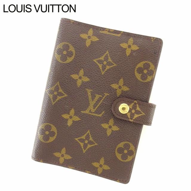 4072deb0f567 ルイ ヴィトン Louis Vuitton 手帳カバー システム手帳 レディース メンズ モノグラム 【中古】 L2541