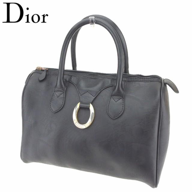 new style 9a42d 5536c ディオール Dior ハンドバッグ バッグ バック ミニボストンバッグ レディース メンズ トロッター 【中古】 T8164|au  Wowma!(ワウマ)