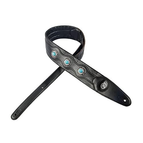 YUEKOブルーダイヤモンドギターストラップ高品質...