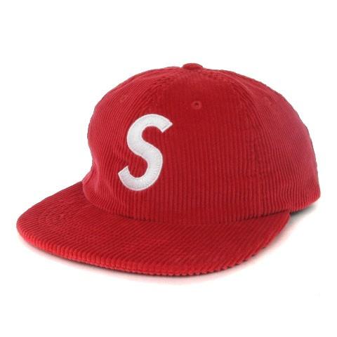 シュプリーム SUPREME 17SS Corduroy S Logo 6 Pa...