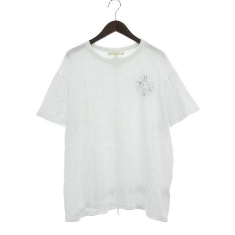 オフホワイト OFF WHITE C/O BMC Tシャツ 半袖 透...