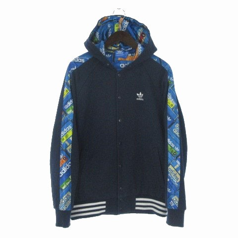 adidas originals HOODED STADIUM JACKET スタジ...