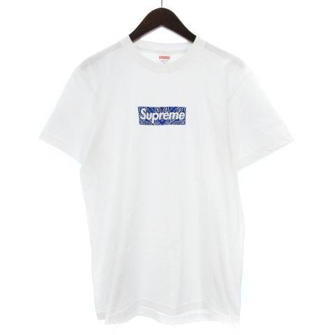 【中古】シュプリーム 19AW Bandana Box Tシャツ ...