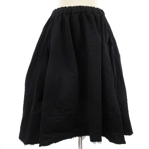【中古】コムデギャルソン スカート ひざ丈 変形 ...