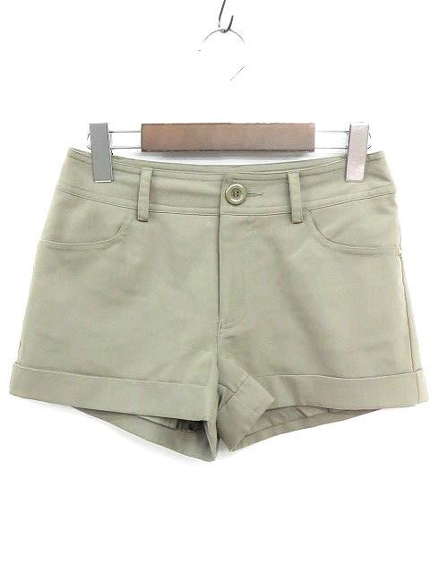セシルマクビー CECIL McBEE ショート パンツ 裾...
