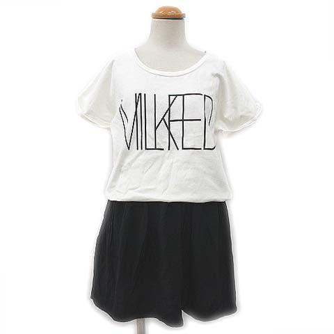 ミルクフェド MILKFED. ワンピース ミニ  Tシャツ...