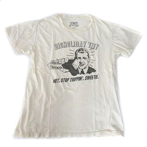 ティーエムティー TMT Tシャツ 半袖 ロゴ フェイ...