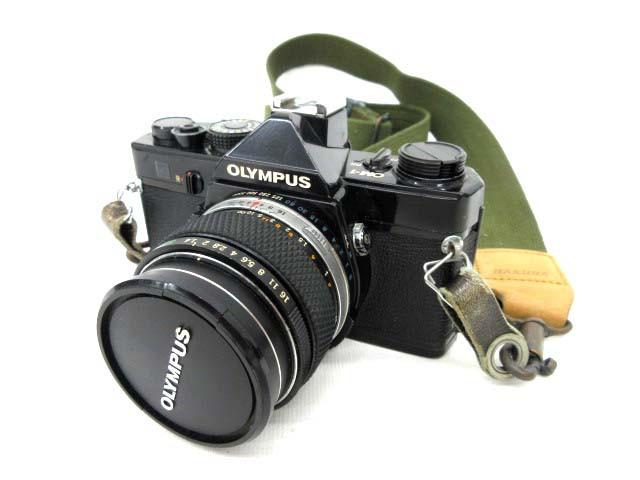 オリンパス OM-1 レンズ付き フィルムカメラ ジャ...