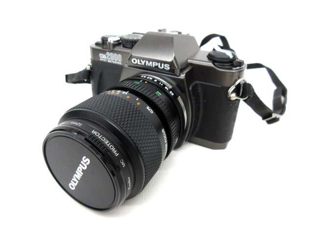 オリンパス OM2000 レンズ付き フィルムカメラ ジ...