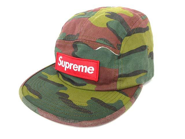 2a9b0b8090f シュプリーム SUPREME 18SS Military Camp Cap キャップ 迷彩 カモ ボックスロゴ 帽子 Jigsaw Camo ☆AA
