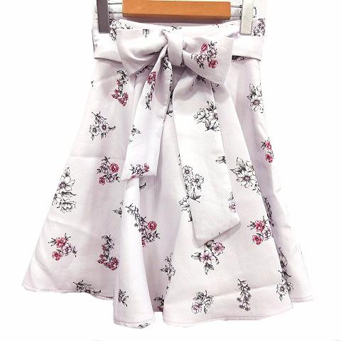ティティー&コー TITTY&CO スカート フレア 花柄 ...