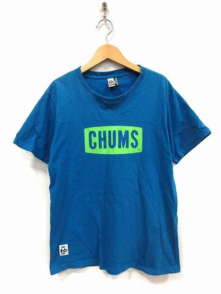 チャムス CHUMS Tシャツ カットソー 半袖 プリン...