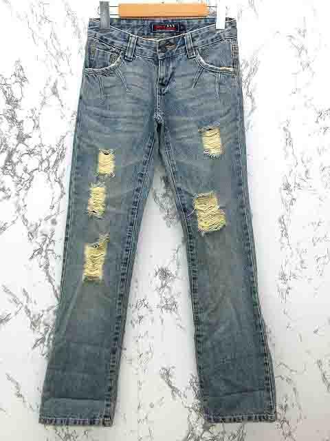 アフリカタロウ AFT jeans ボーイフレンド デニム...