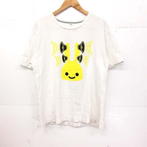 キューン CUNE Tシャツ 半袖 うさぎ プリント L ...