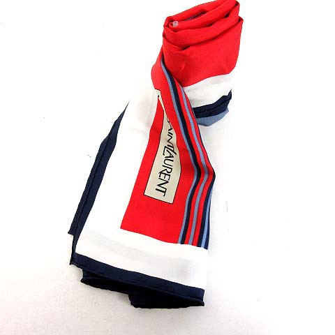 イヴサンローラン YVES SAINT LAURENT スカーフ ...