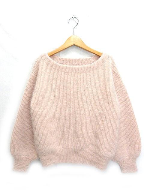 ロペ ROPE セーター ニット 長袖 38 ピンク 18111...