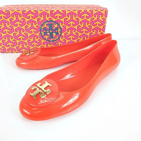 トリーバーチ TORY BURCH EQUESTRIAN ORANGE JELL...