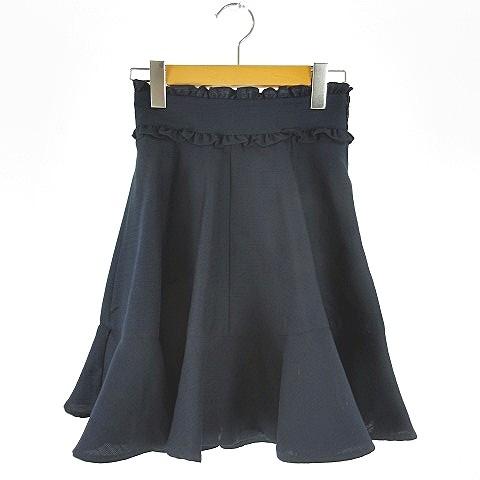 【中古】アンクルージュ Ank Rouge スカート フレ...