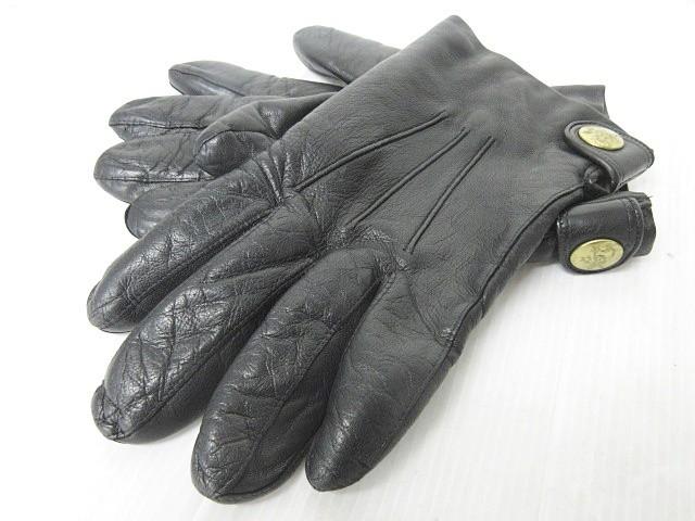 イルビゾンテ IL BISONTE レザーグローブ 手袋 革...
